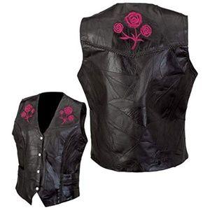 Jackets & Blazers - NWT Womens Buffalo Leather  motorcycle vest